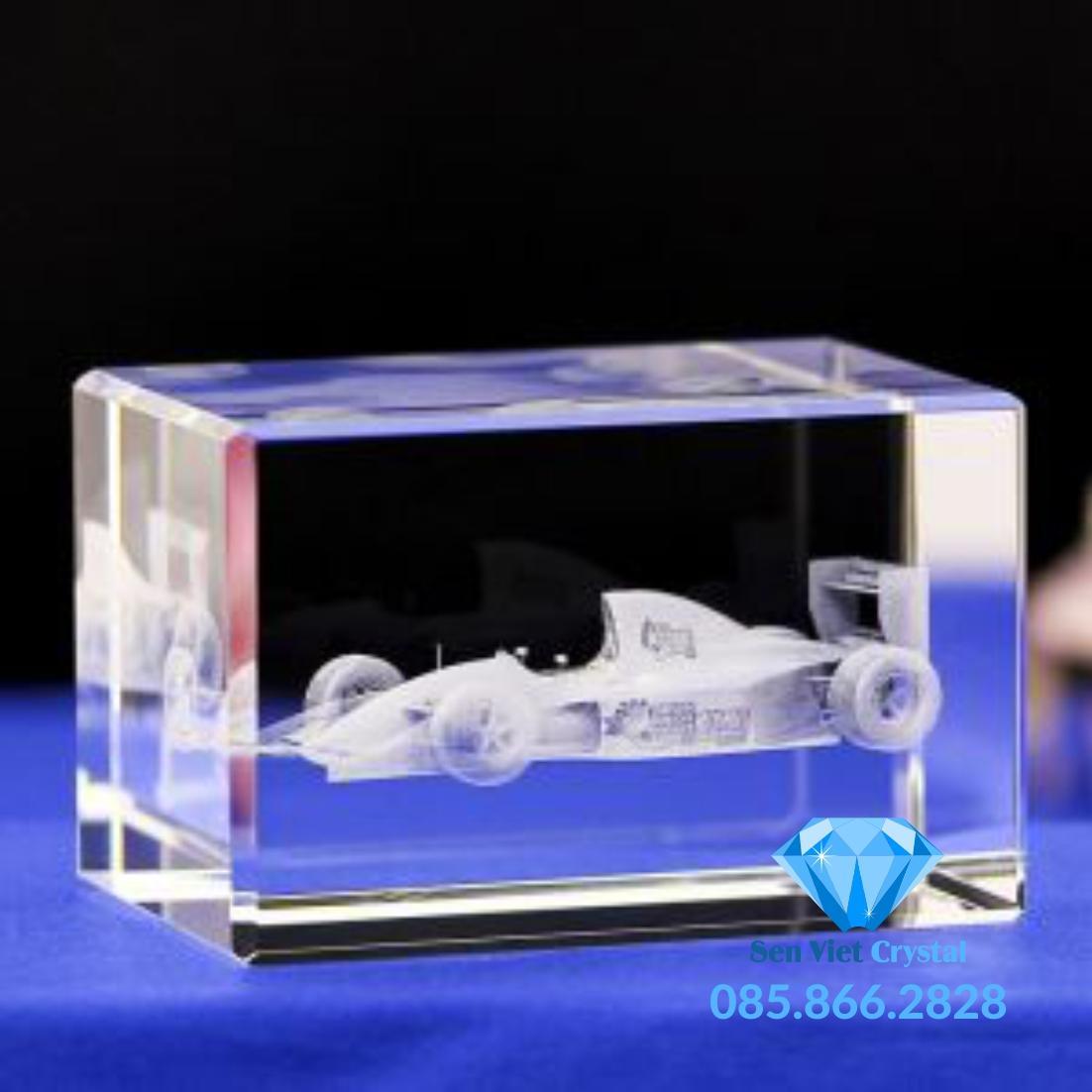 Khối pha lê khắc 3D M08