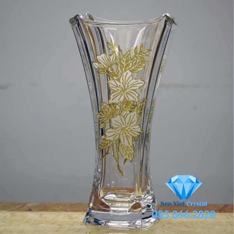 Bình hoa pha lê M11