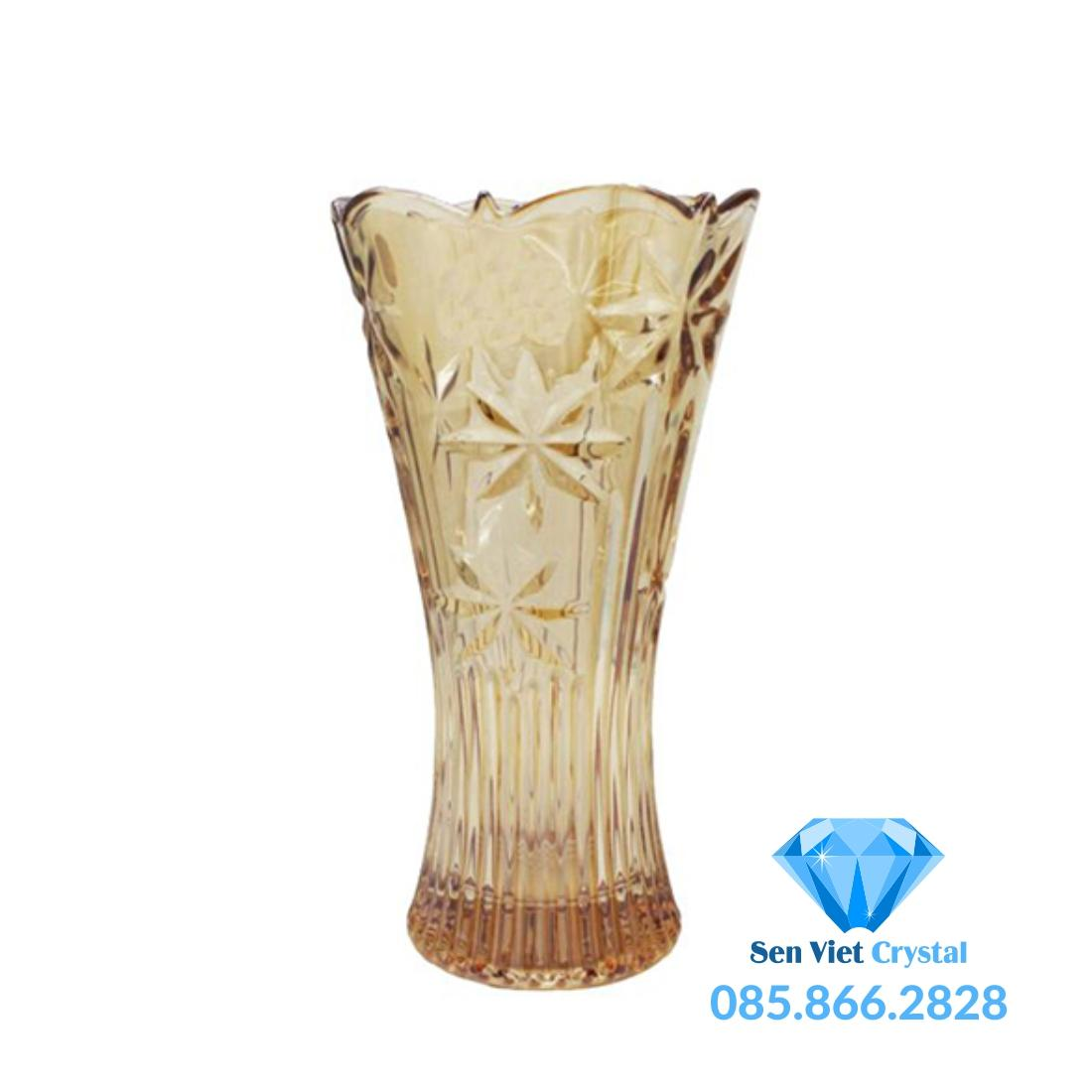 Bình hoa pha lê M12