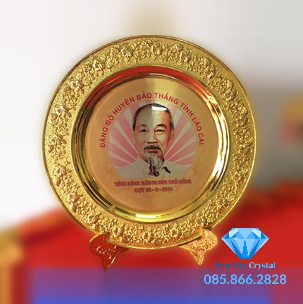 Biểu trưng đĩa đồng in khắc đẹp nhất hà nội