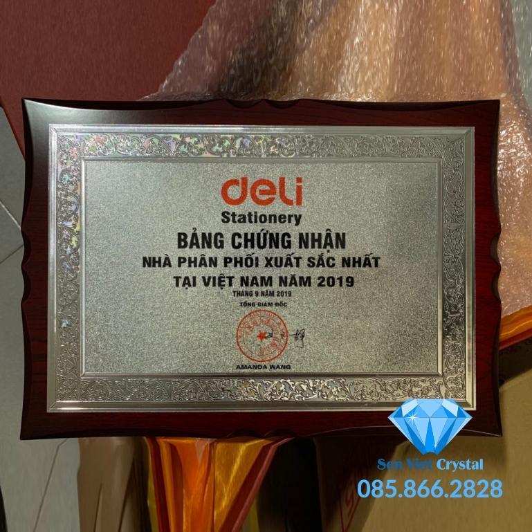 Bảng vinh danh sản phẩm in khắc đẹp nhất Hà Nội
